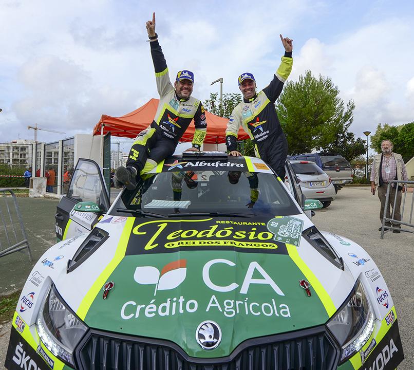 Ricardo Teodósio é o novo campeão nacional de ralis