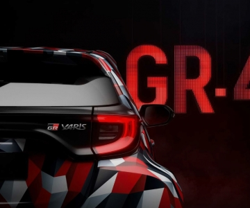 Teaser do Toyota GR Yaris