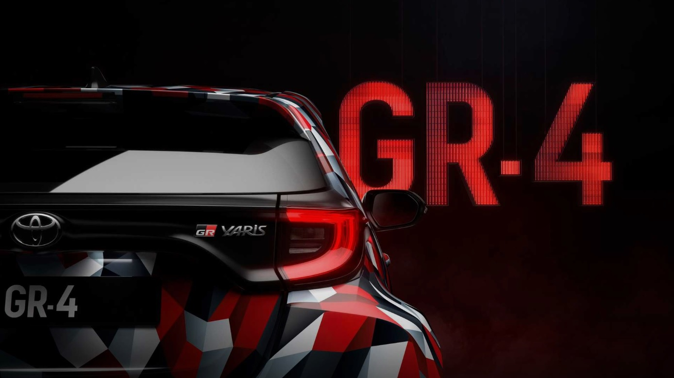 Teaser do Toyota GR Yaris