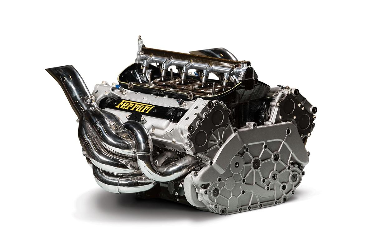 Motor do Ferrari F1 F2002
