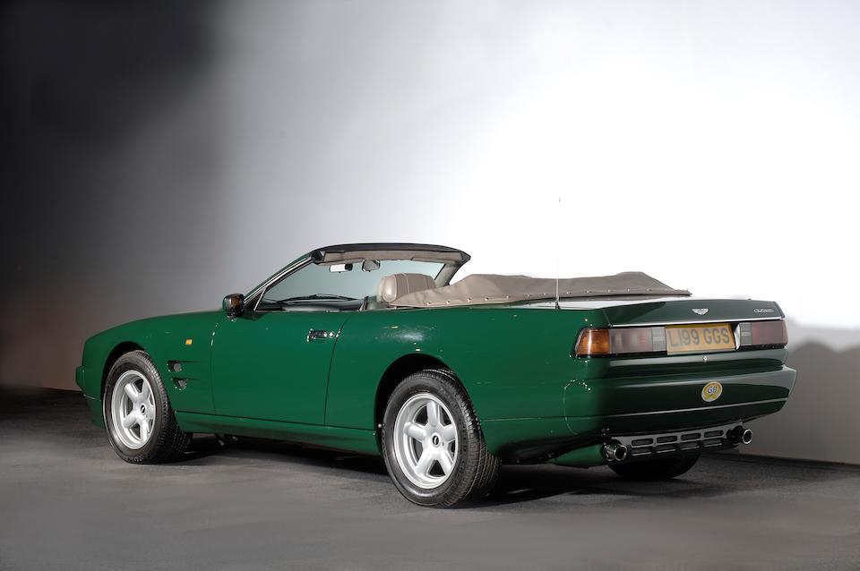 Aston Martin Virage Volante do Príncipe Carlos