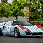 """Ford GT40 do filme """"Le Mans 66"""" vai a leilão"""