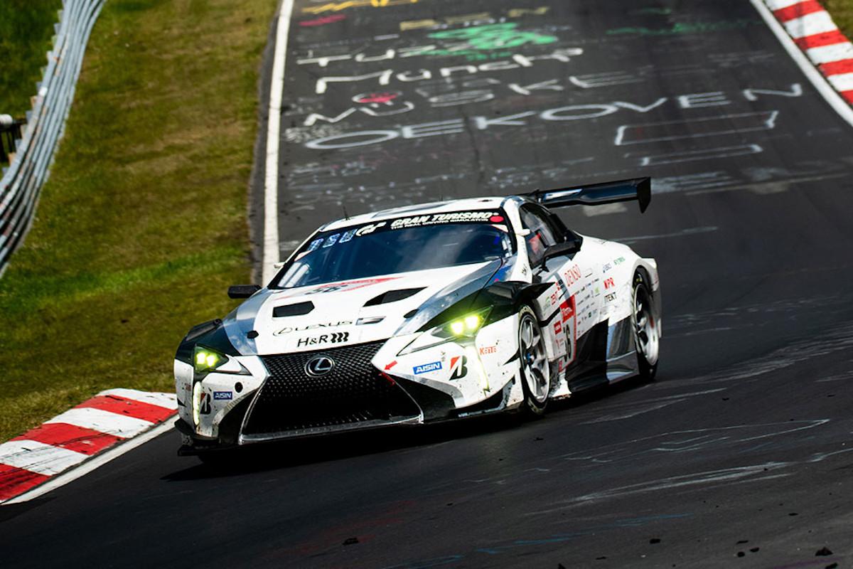 Novo Lexus com motor V8 biturbo correrá na próxima edição das 24h de Nürburgring