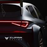 Cupra Leon TCR teaser
