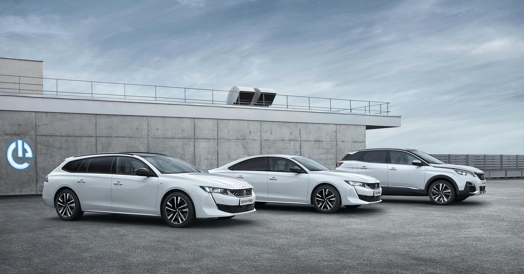 Nova gama Peugeot PHEV