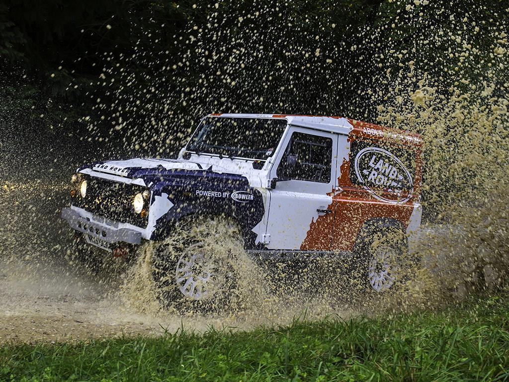 Land Rover Defender Challenge by Bowler