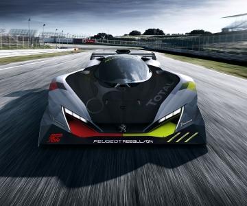Primeiro esboço do carro da Peugeot Rebellion que correrá em Le Mans em 2022