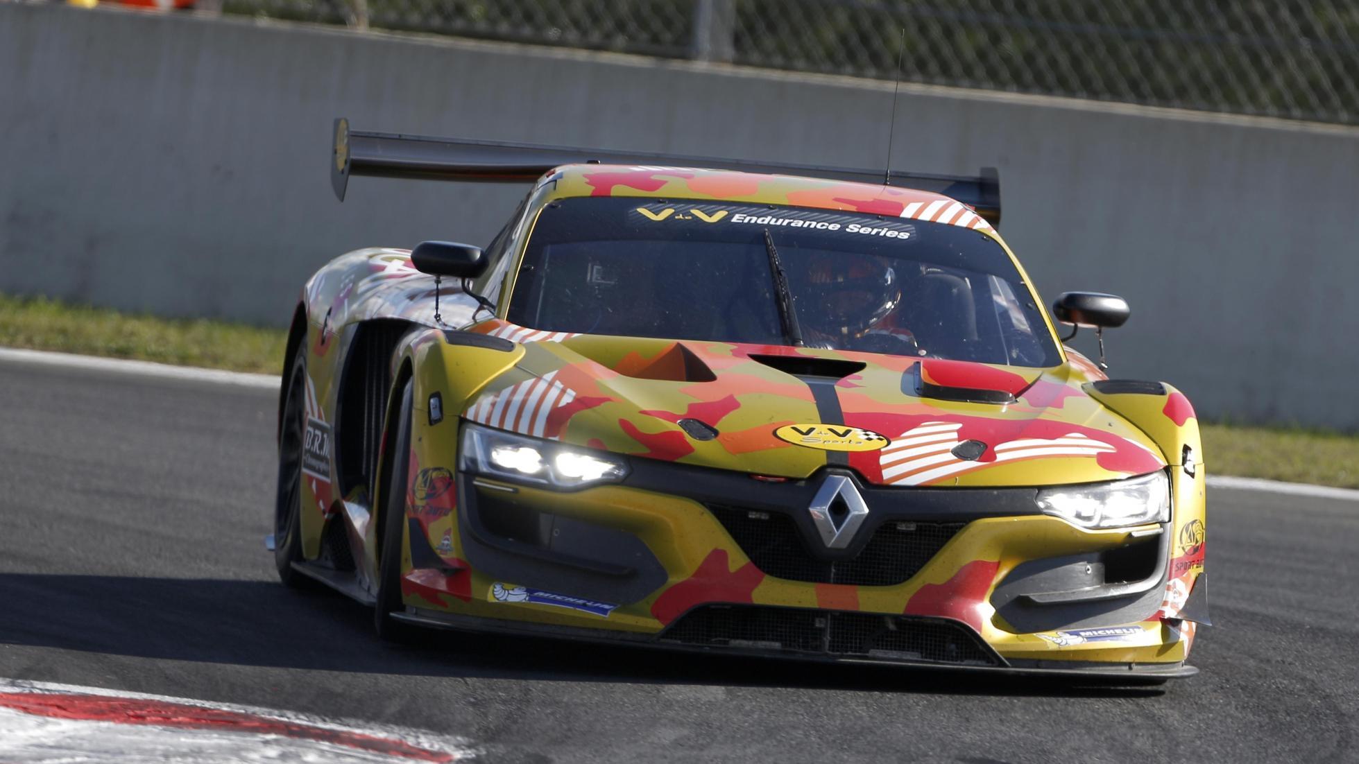 Renault RS 01 em ação