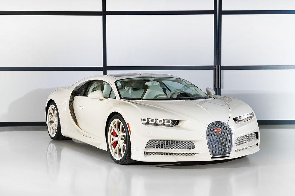 Bugatti Chiron Hermes Edition