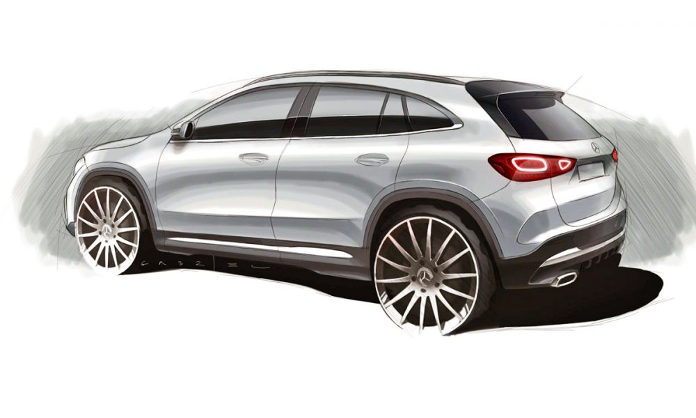 Mercedes-Benz GLA sketch