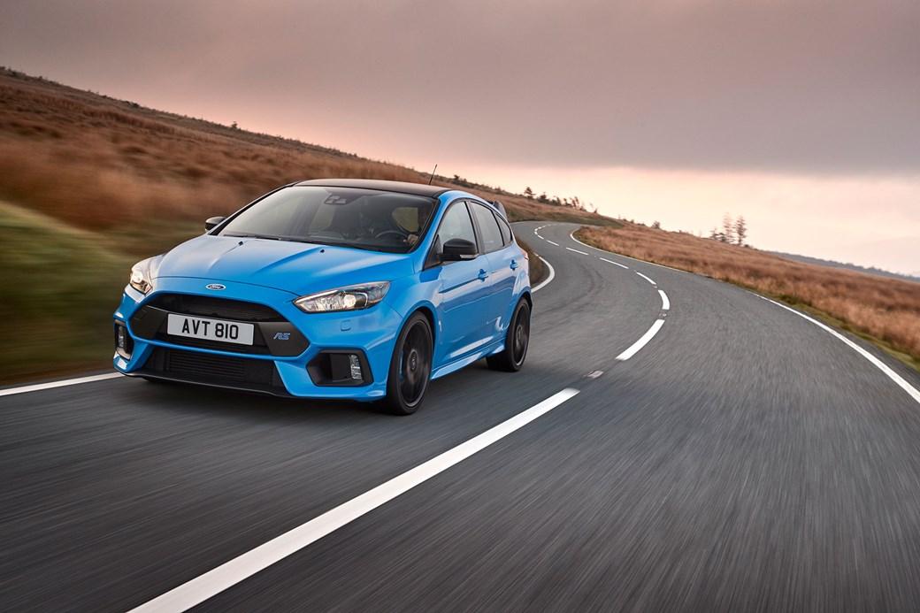 Geração atual do Ford Focus RS
