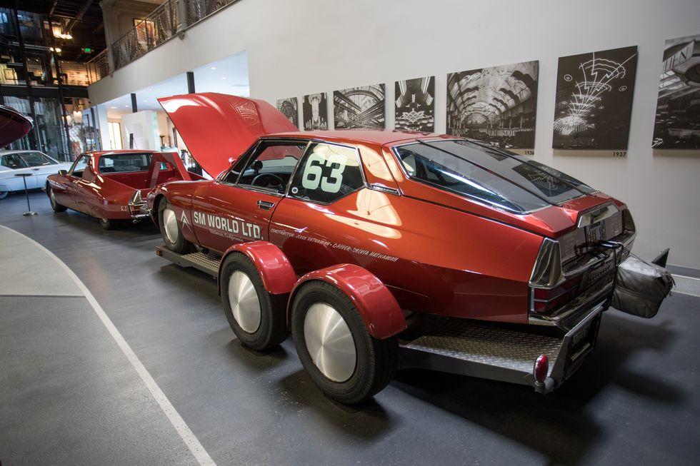 Citroën SM recordista
