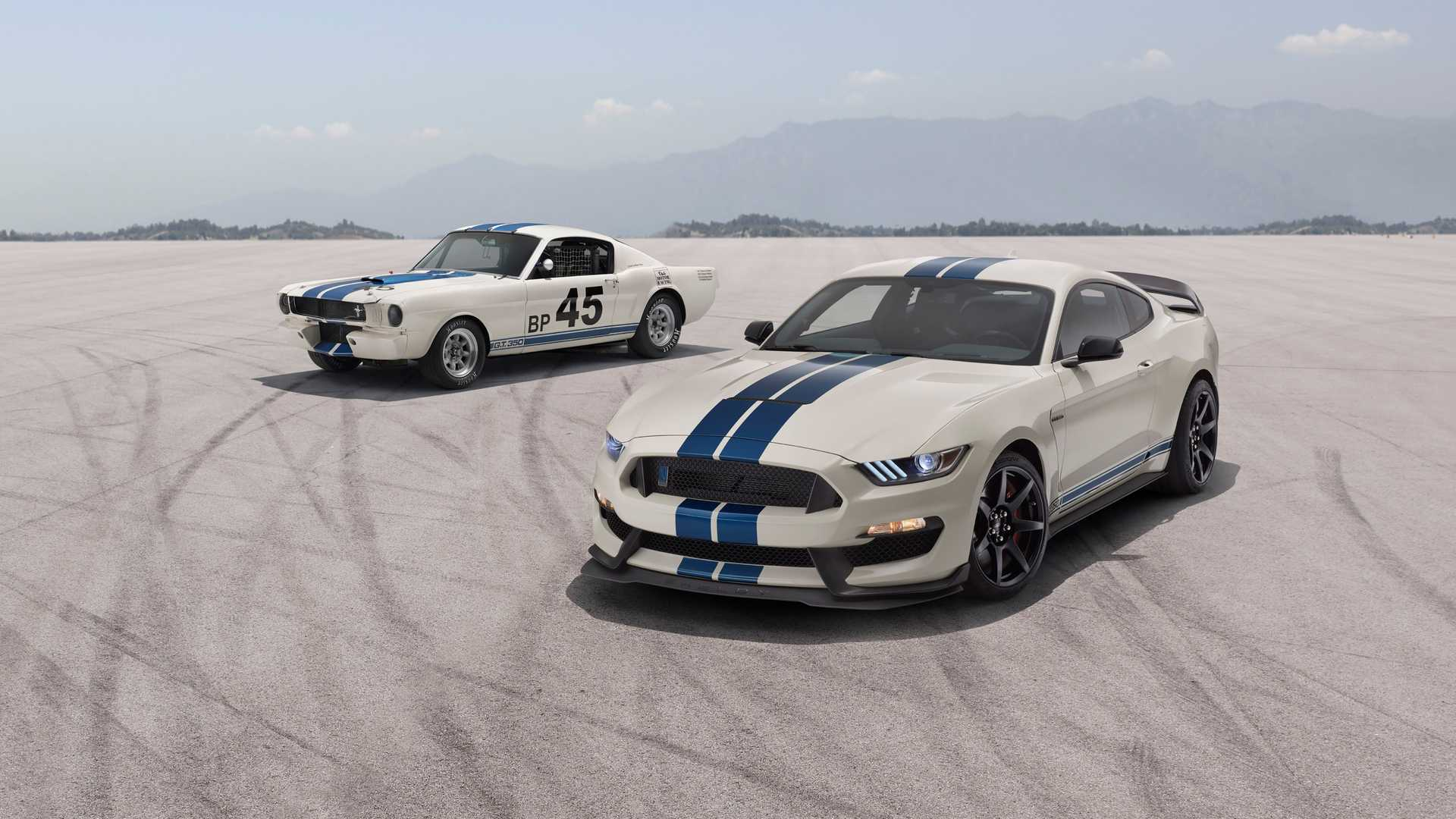 Shelby Heritage Edition GT350R