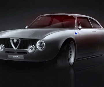 Alfa Romeo Giulia GTV elétrico