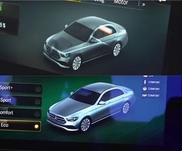 Mercedes-Benz Classe E facelift