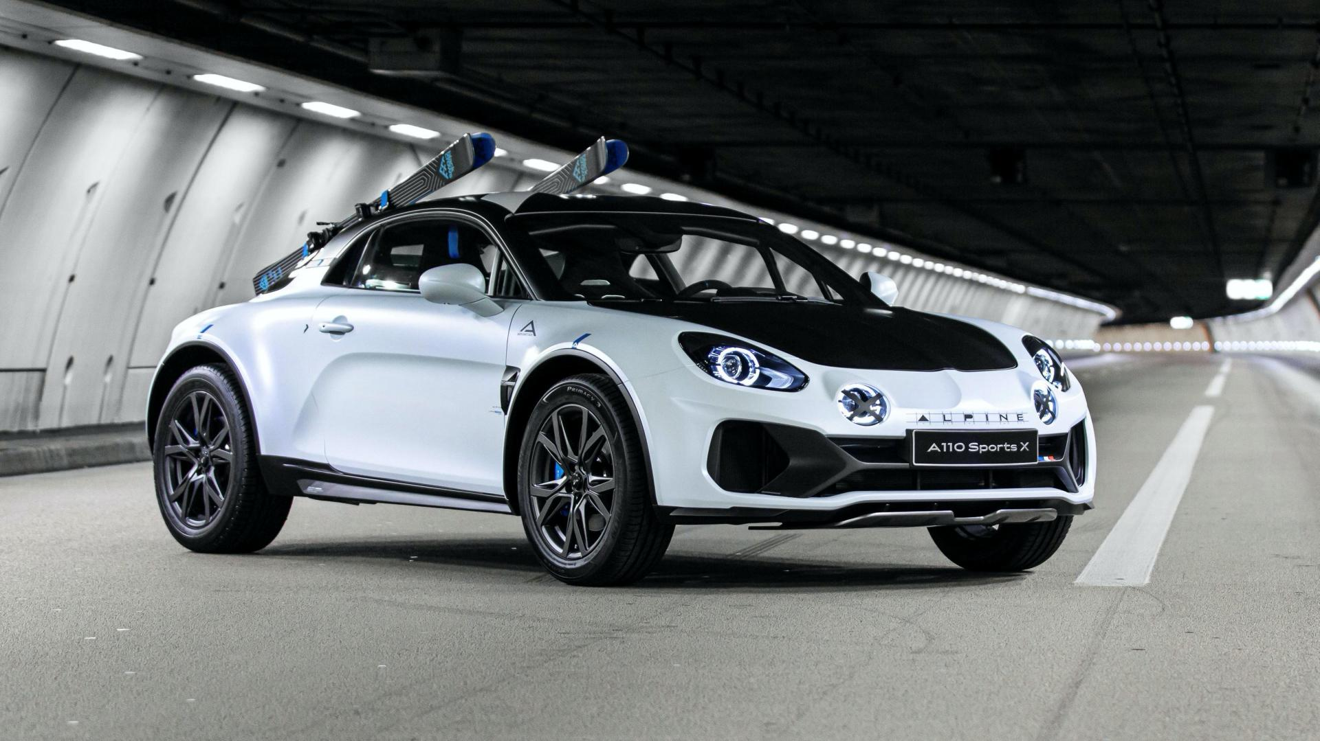 Alpine A110 SportsX show car