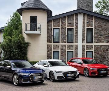 Audi S6 Limousine TDI, Audi S7 Sportback TDI, Audi S6 Avant TDI