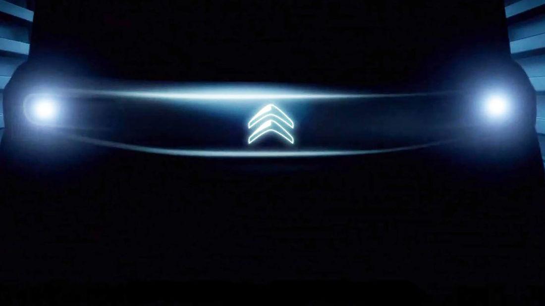 Teaser da versão de produção do Citroën Ami One