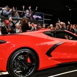 Primeiro exemplar do Chevrolet Corvette C8