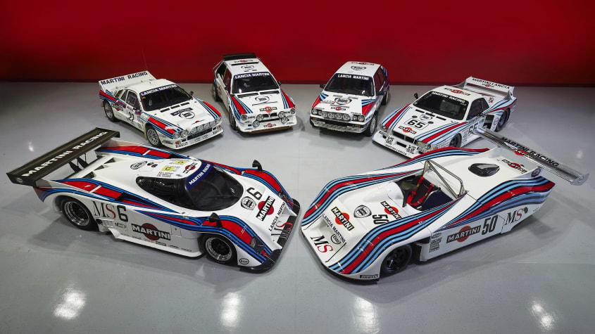 leilão de Lancia de competição