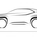 Primeiro sketch do SUV do segmento B da Toyota