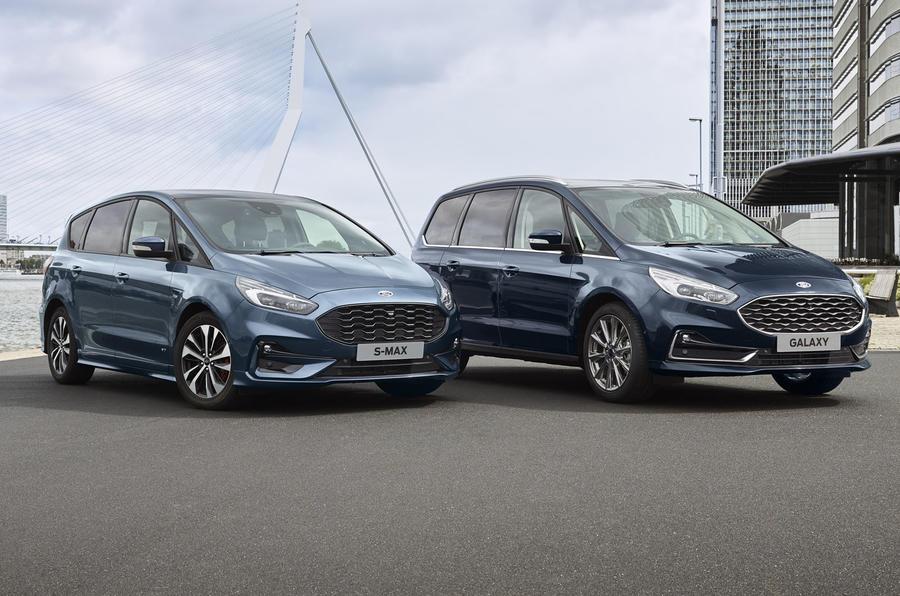 Ford S-Max e Galaxy