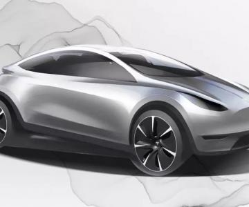 Esboço daquele que poderá ser o Tesla feito na China