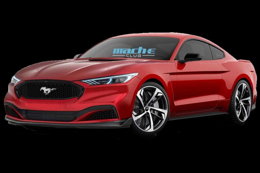 Render do novo Ford Mustang