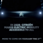 Citroën elétrico teaser