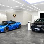 Lamborghini inaugura novas instalações