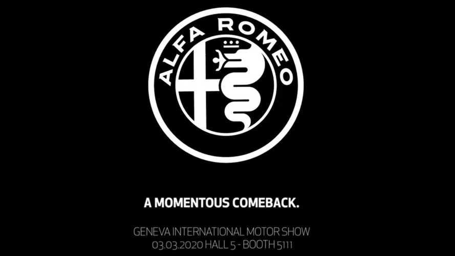 Alfa Romeo teaser