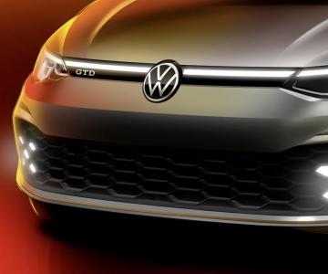 VW Golf GTD teaser
