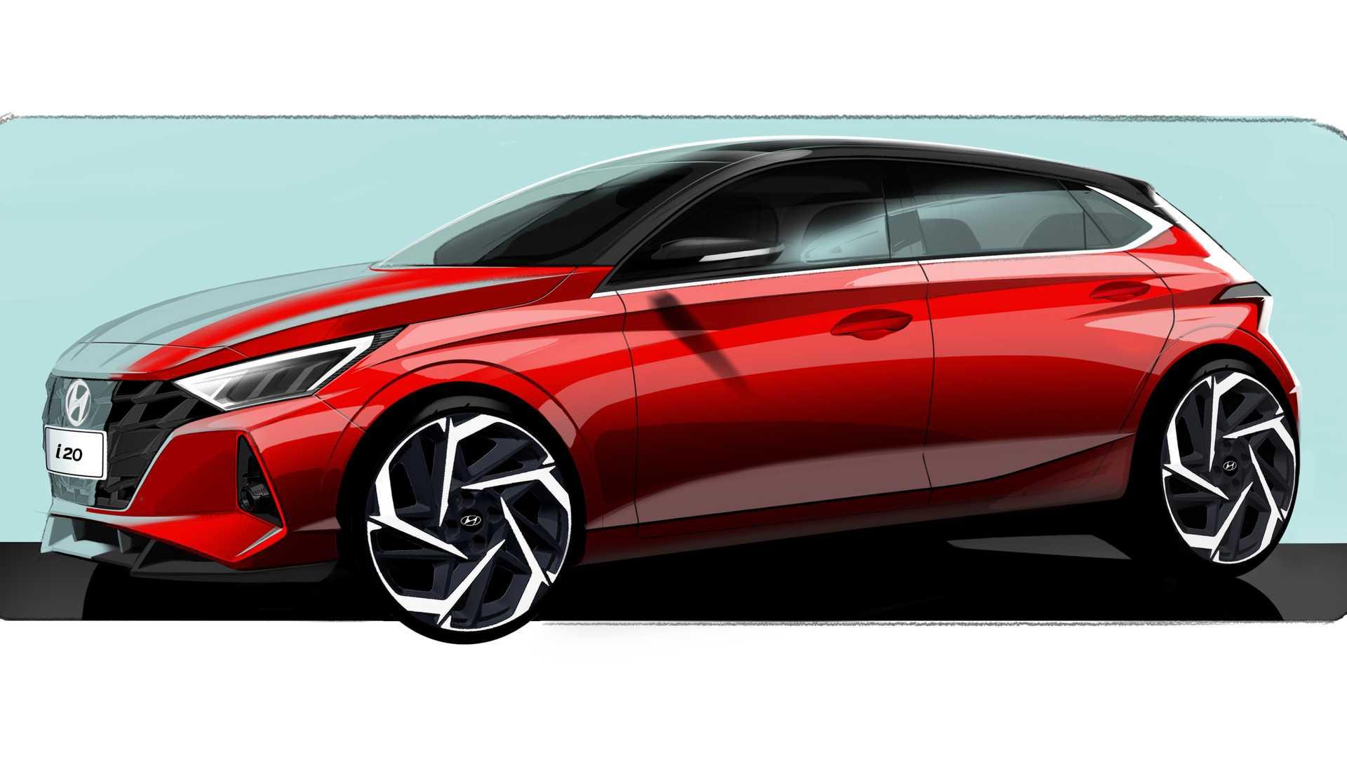 Hyundai i20 teaser