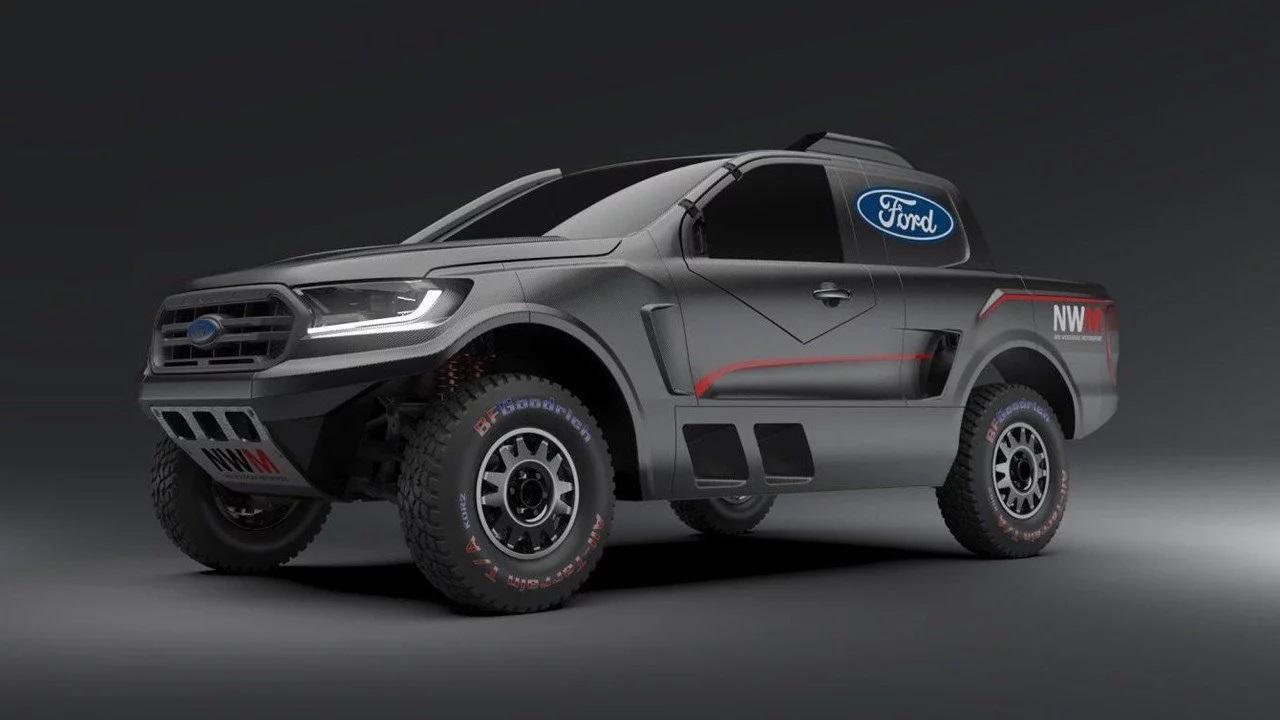 NMW Ford Ranger Raptor V6