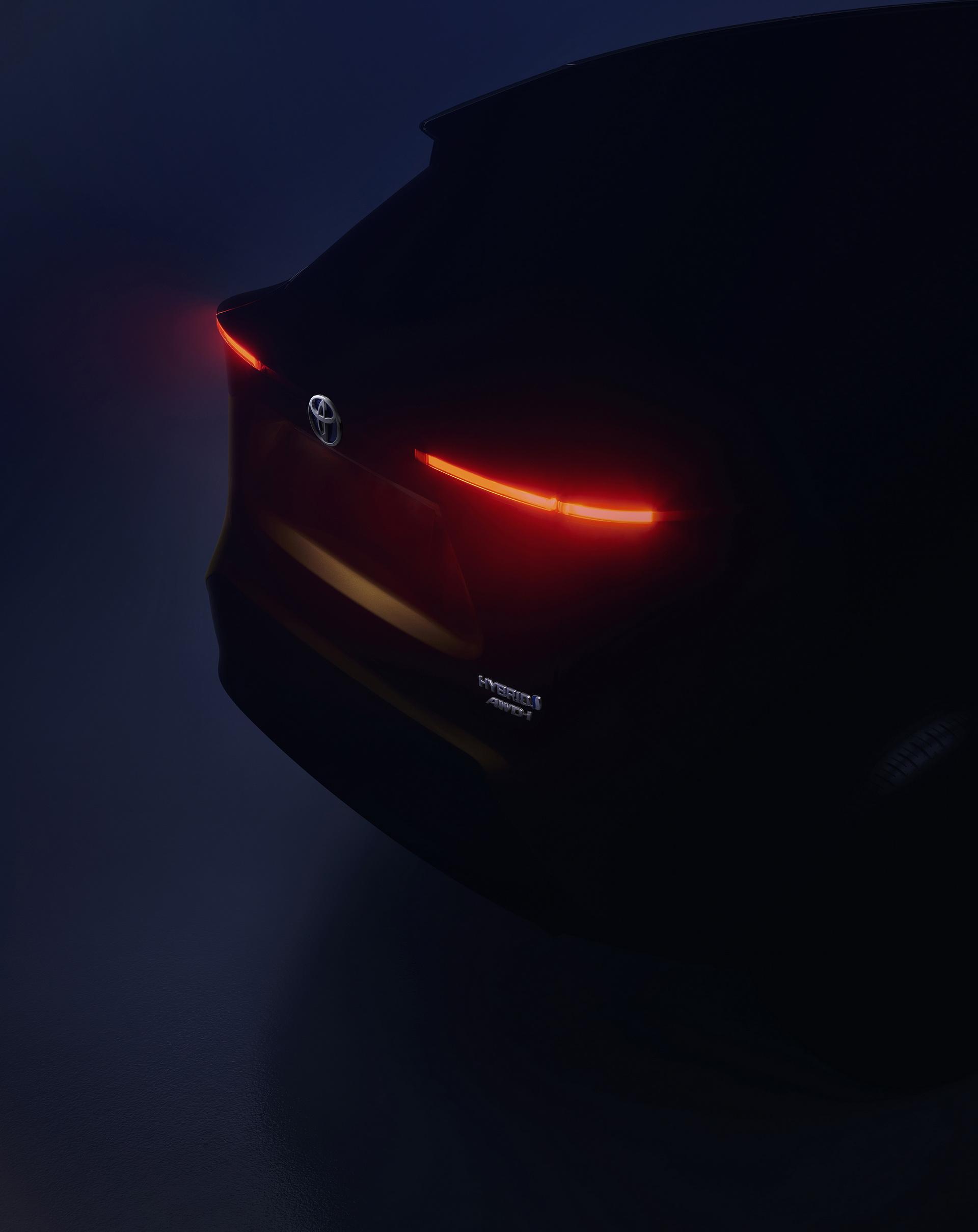 Teaser do novo Toyota B SUV