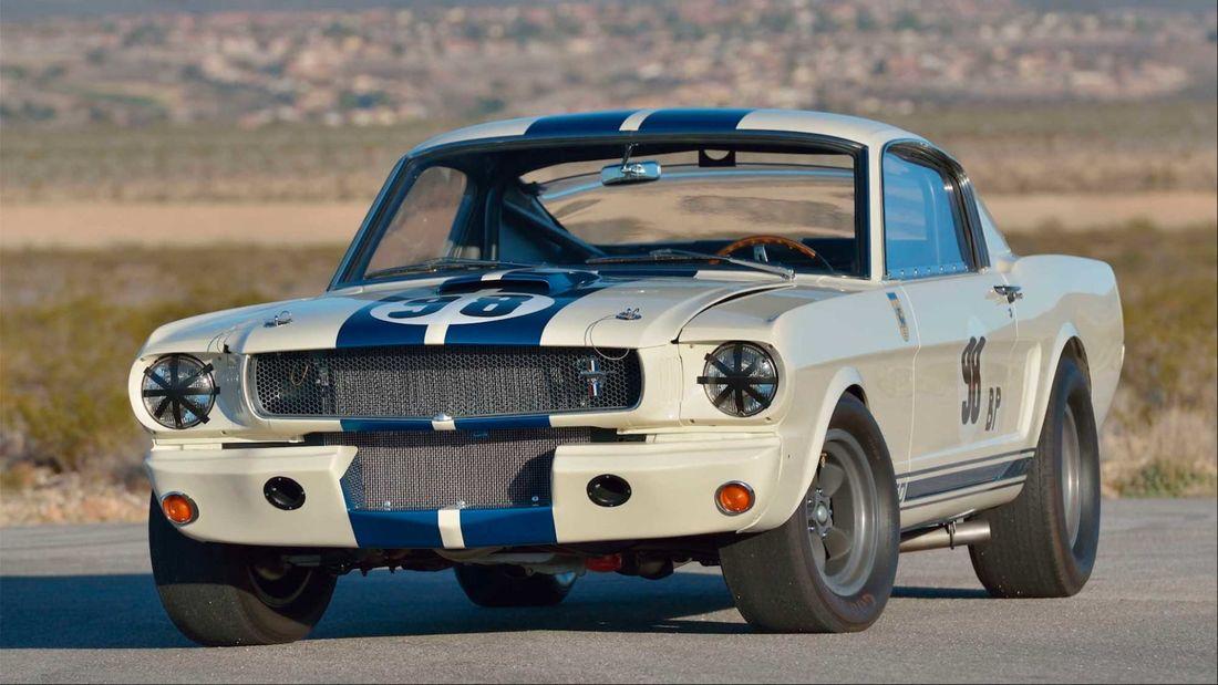 Shelby GT350R Protótipo de 1965