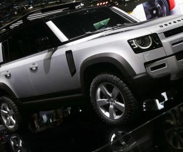 Nova geração do Land Rover Defender foi apresentada no Salão de Frankfurt de 2019