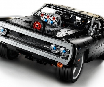 Dodge Charger de Fast and Furious em Lego