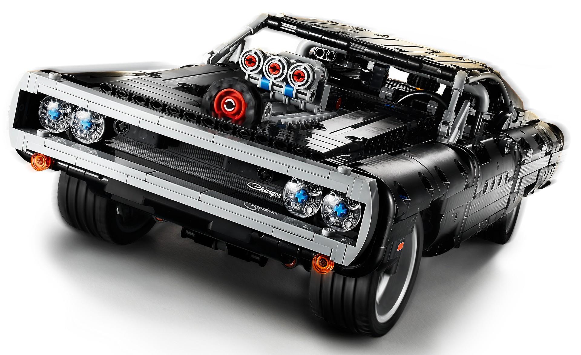 Dodge Charger de Fast and Furious em Lego