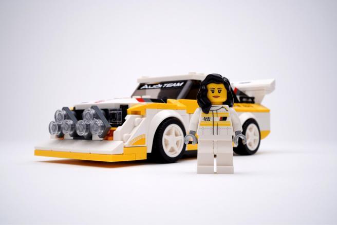 Audi S1 Sport quattro e Michèle Mouton em Lego