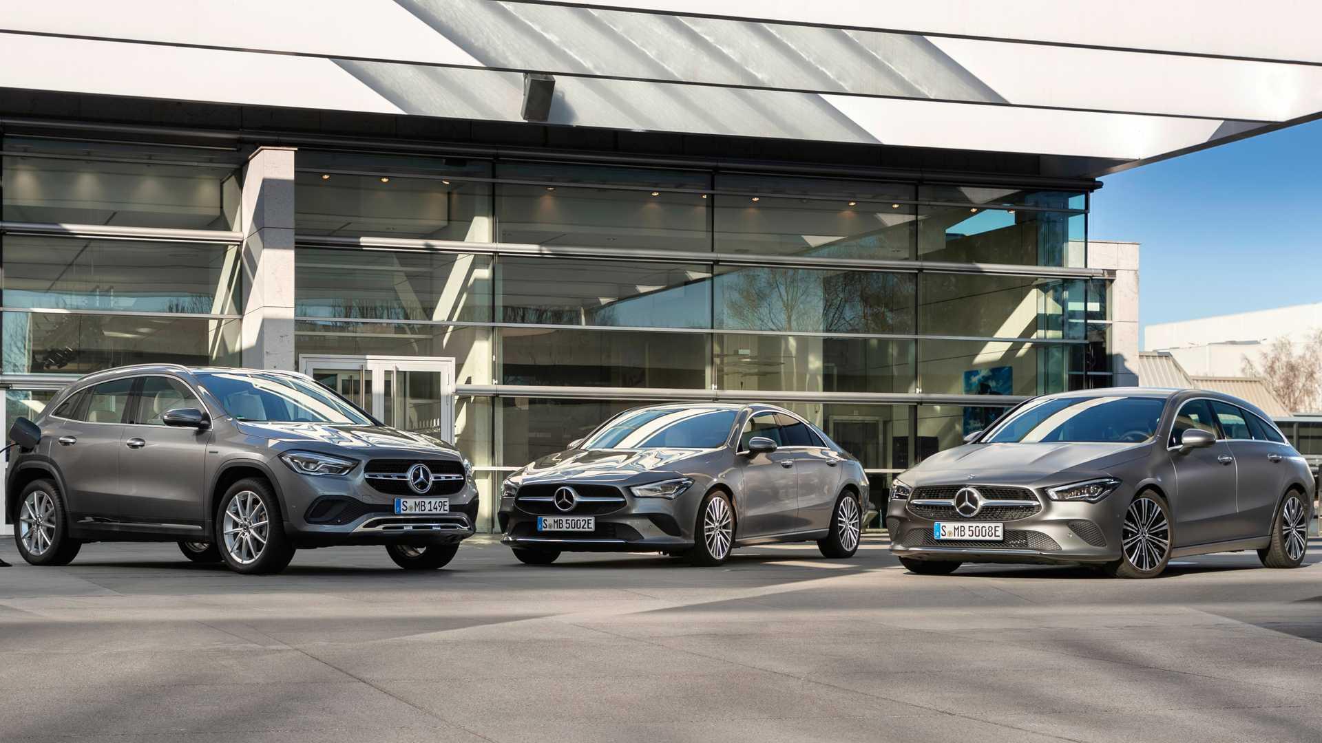 Novos Mercedes-Benz GLA e CLA 250e