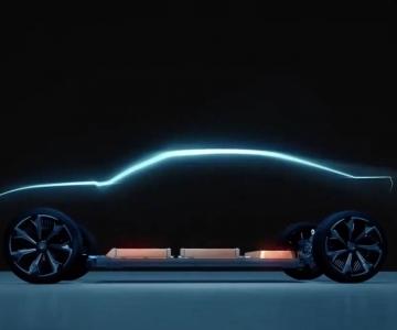 Teaser do possível Chevrolet Camaro elétrico