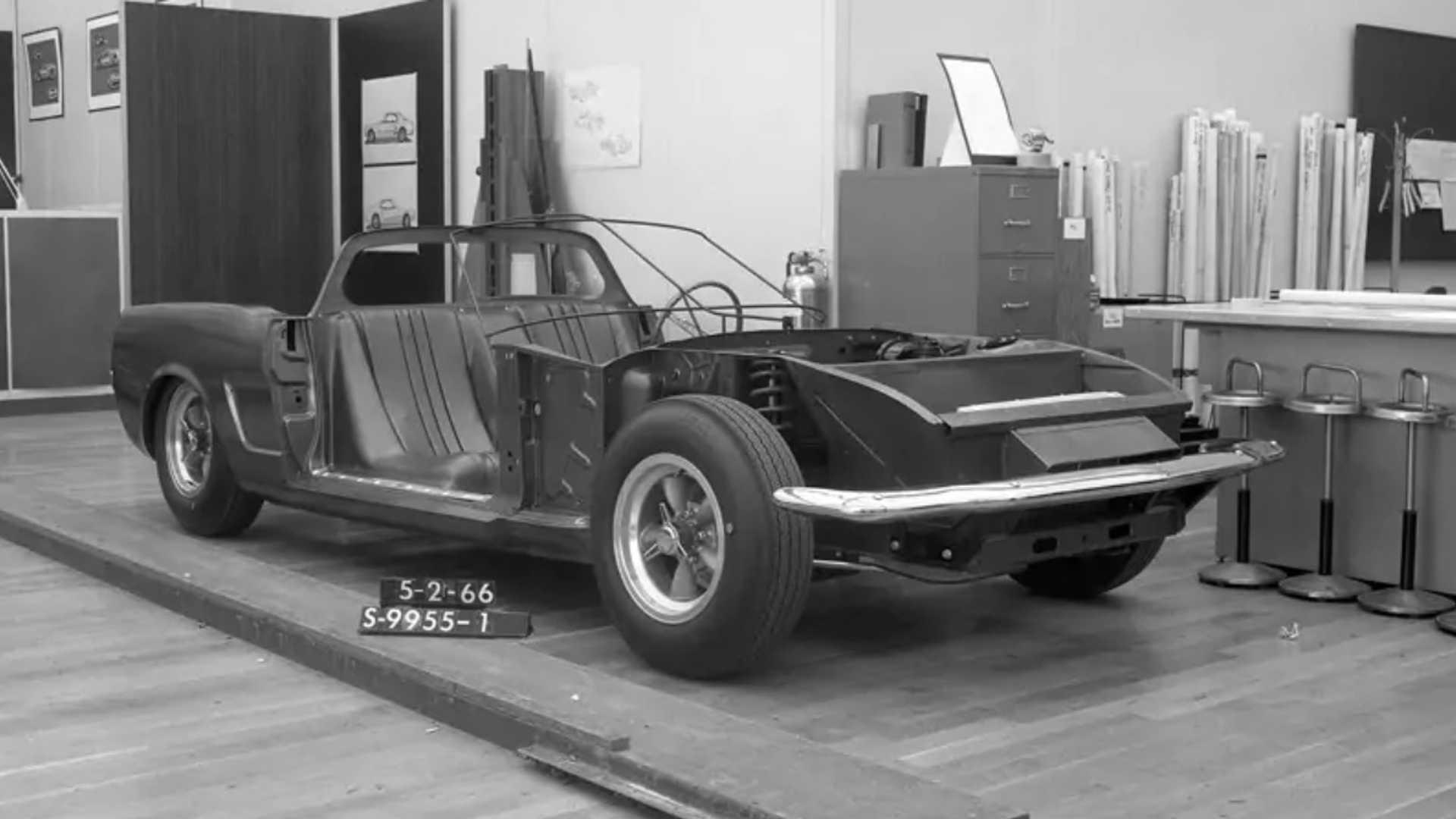 Ford Mustang de motor central de 1966