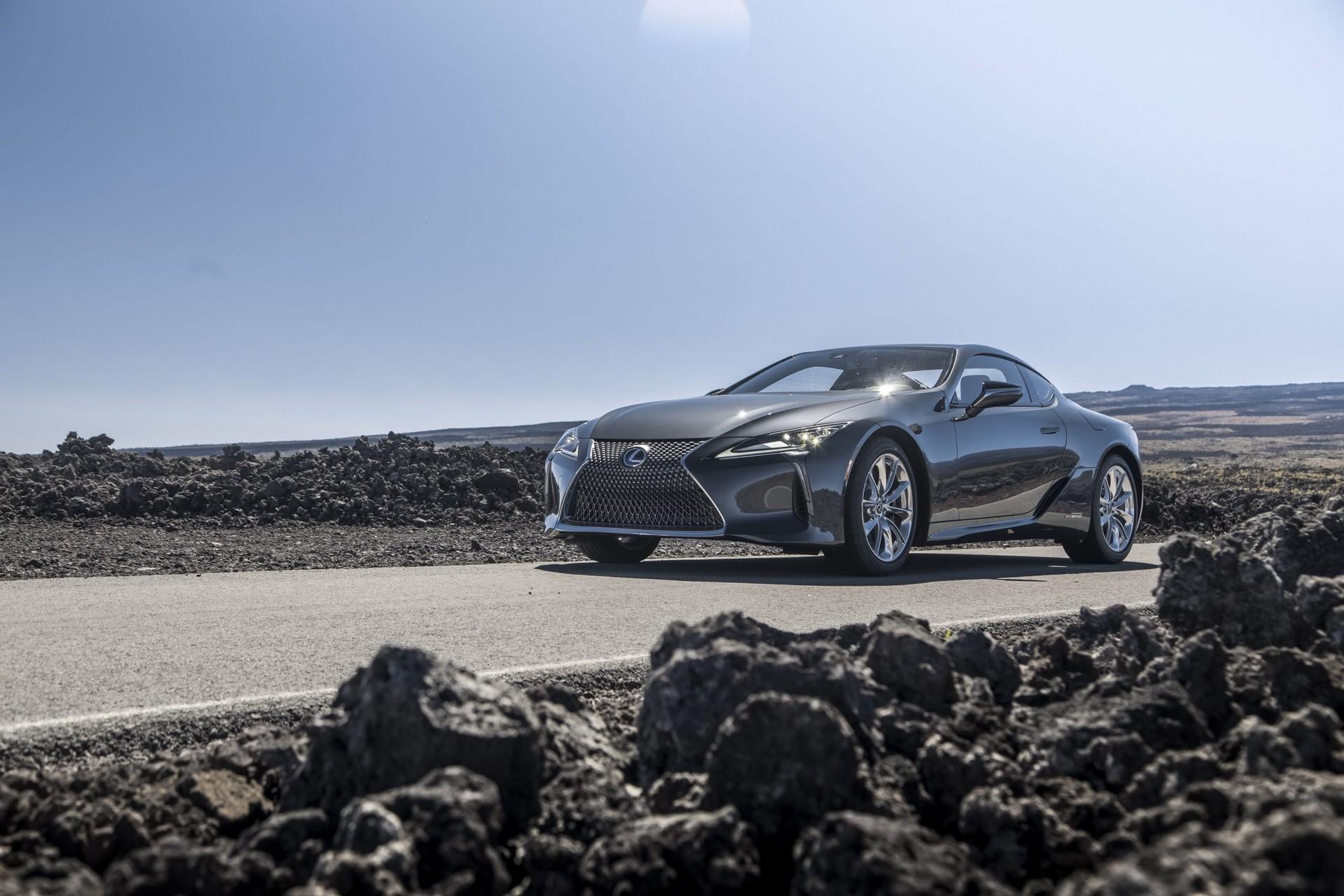 Lexus LC facelift