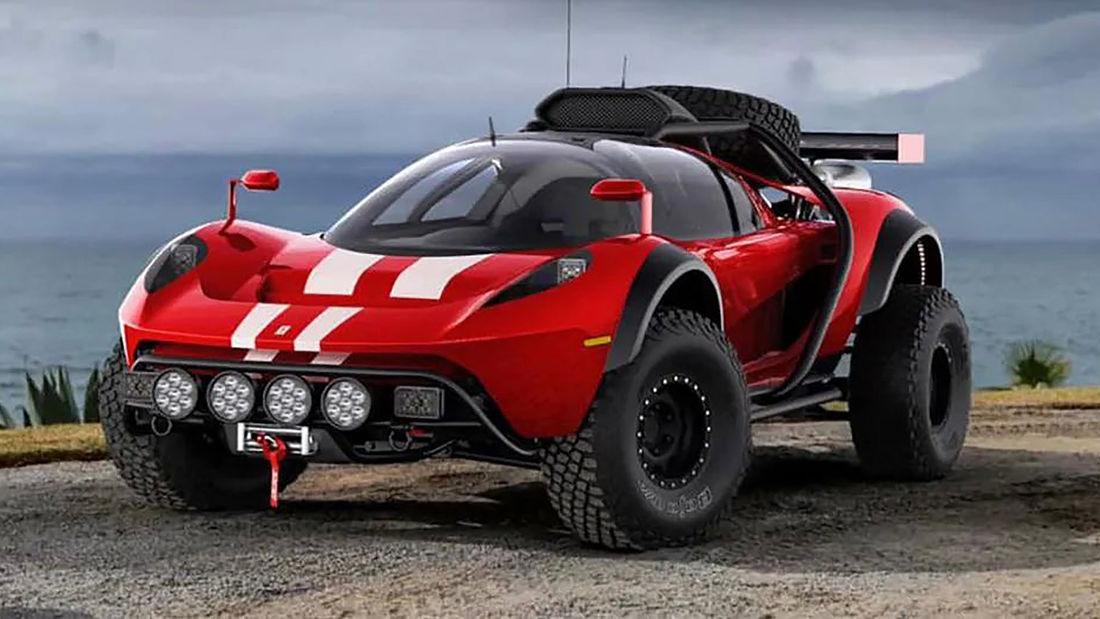 Primeira imagem do novo kit car SCG para todo o terreno