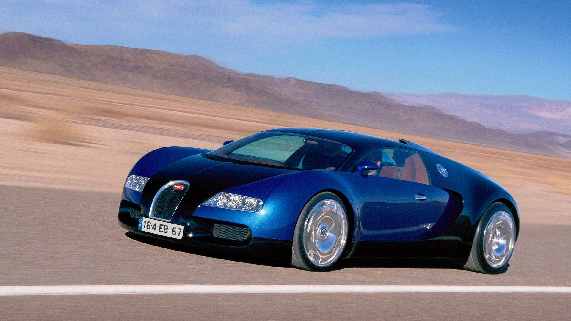 Bugatti EB16-4 Veyron Concept