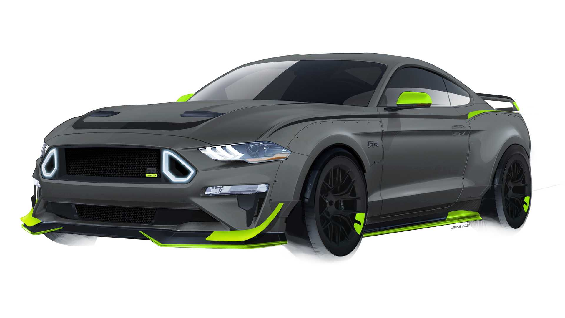 RTR Ford Mustang 10th Anniversary
