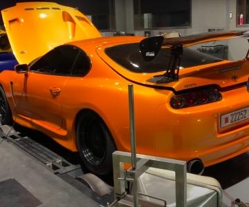 Toyota Supra EKanoo Racing