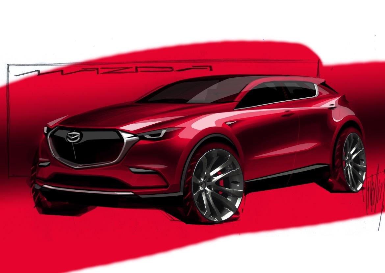 Sketch do Mazda CX-5