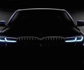 Teaser oficial do novo BMW Série 5 G30 LCI